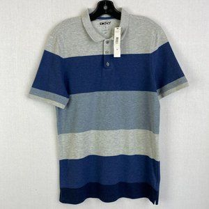 DKNY 100% Cotton Classic Fit Polo Shirt NWT